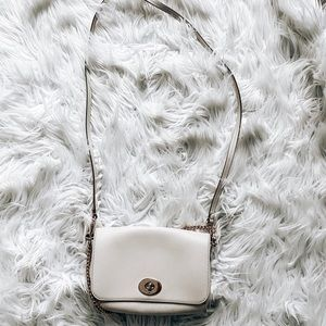 Coach crossbody with chain